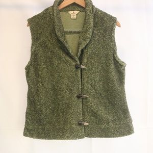 Woolrich Women's M Vest Lt.Olive Heather